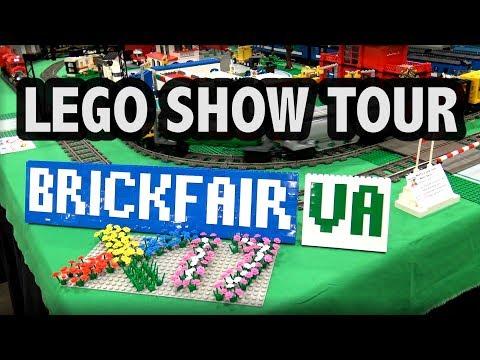 BrickFair Virginia 2017 LEGO Show Tour (4 hours)
