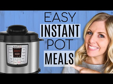 4 EXTREMELY EASY & AFFORDABLE INSTANT POT MEALS – Dump and Go Recipes