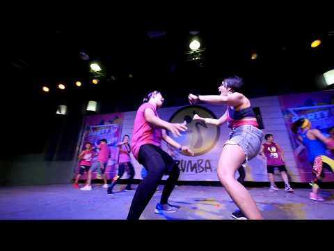Abreme La Puerta - Cha Cha Cha Pop   ZUMBA PARTY IN PINK 2019@CHONBURI