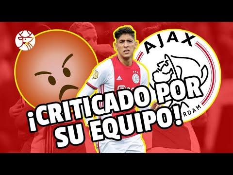 INESPERADO I DT del Ajax critica a Edson… oooootra vez