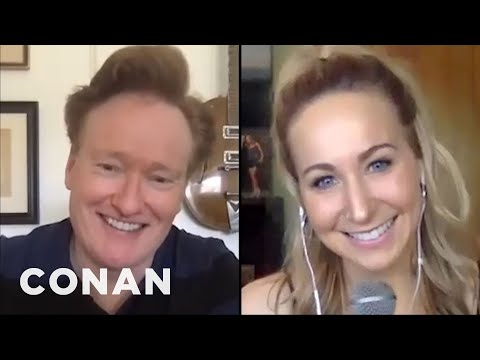 #ConanAtHome: Nikki Glaser Full Interview - CONAN on TBS