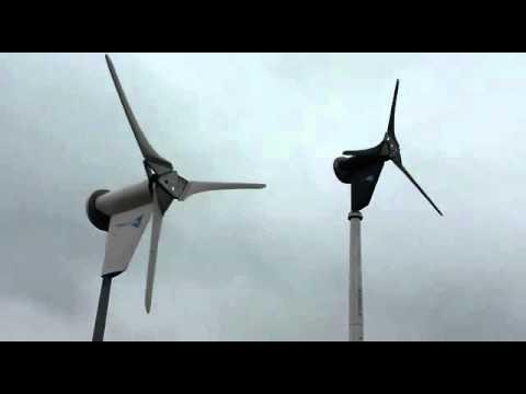 2 X 6KW kingspan wind turbines
