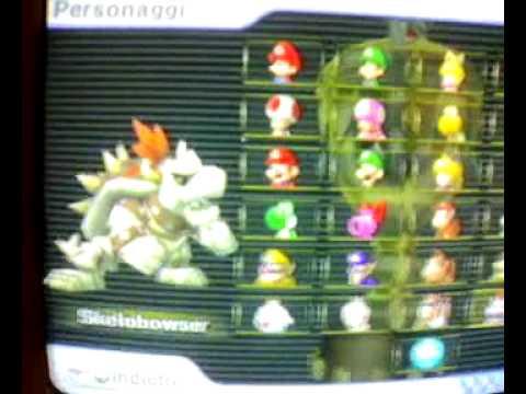 Tutti i personaggi sbloccabili di Mario Kart Wii e come