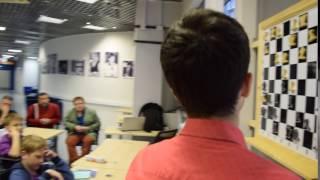 """Урок Владимира Крамника в """"Сириусе"""". Видео 18"""