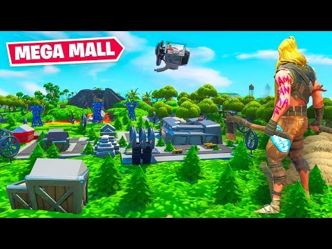 Fortnite S9 BUT The Map Is TINY!