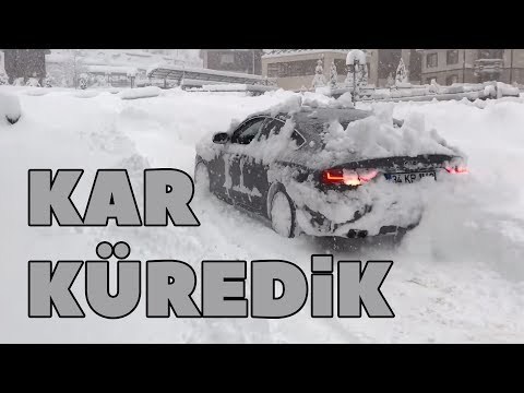 Audi  A5 vs Snow