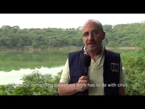 World Humanitarian Day: Being a humanitarian aid worker is difficult when...