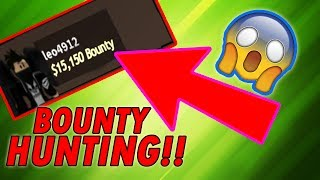 COLLECTING OVER 15,000 BOUNTY IN JAILBREAK!! BOUNTY HUNTING!! | Roblox