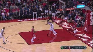 1st Quarter, One Box Video: Houston Rockets vs. Milwaukee Bucks