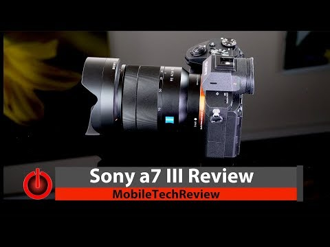 Sony a7 III Full Frame Camera Review - It's that Good!