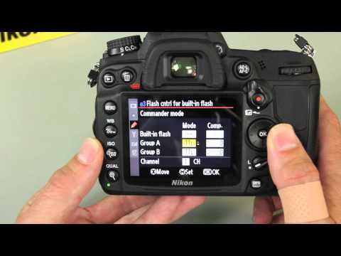 How To Use Nikon CLS Off Camera TTL Flash