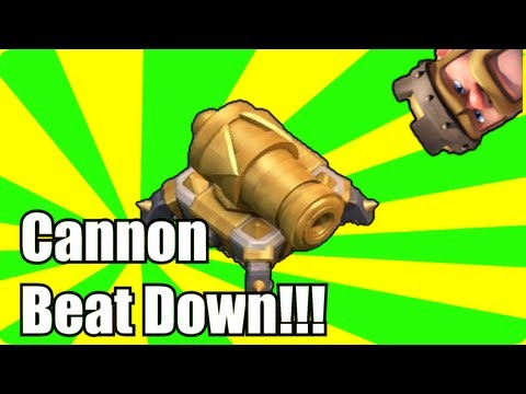 clash of clans - Cannon BeAt DoWn