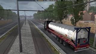 Euro Truck Simulator 2 / Scania New Gen. S / Acetylene 10 t / Southern Region Nevinnomyssk ITCC