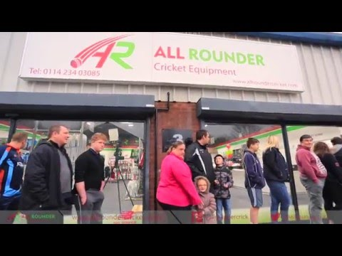 All Rounder Cricket Sheffield Megastore - Opening Day