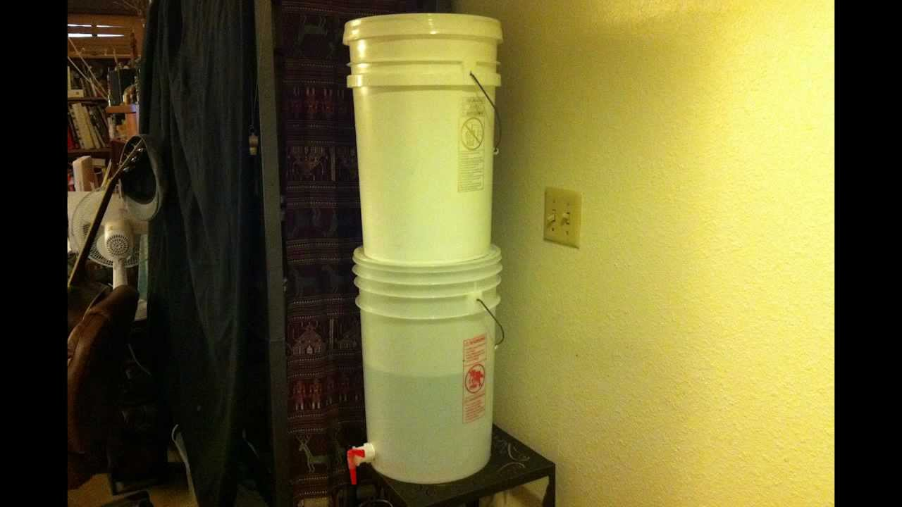 DIY 6 Gallon Ceramic Gravity Water Filter Budget Filtration System