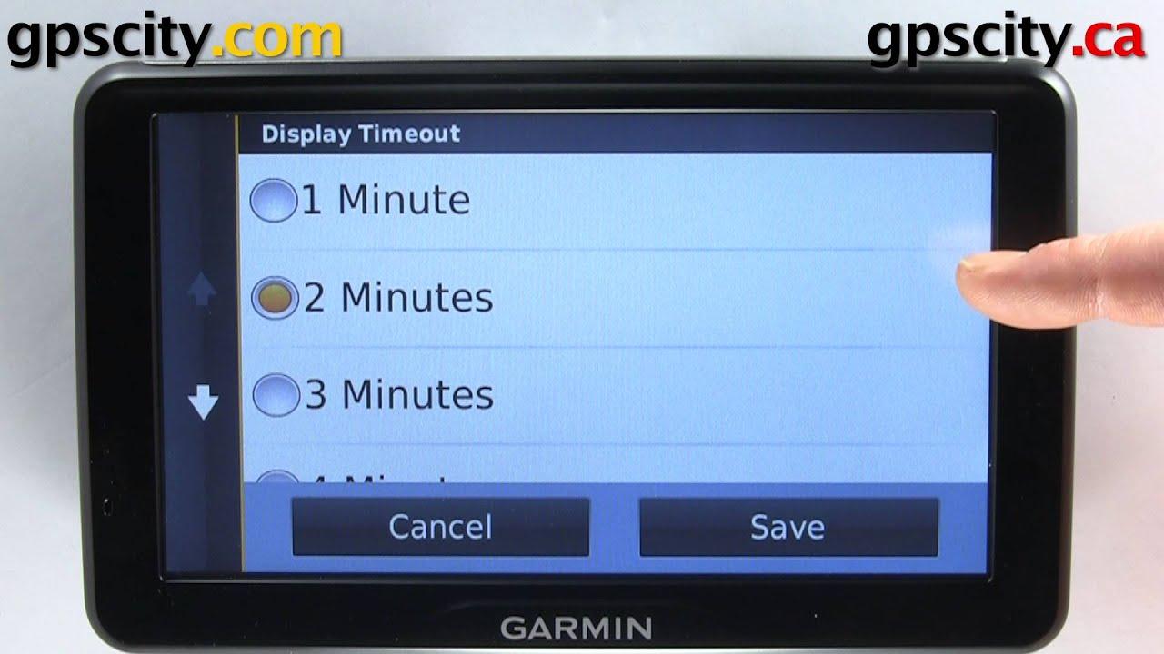 Garmin nuvi 2797 LMT: Display Settings