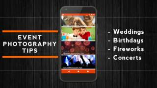 Photo Tips - Learn Photography Android App