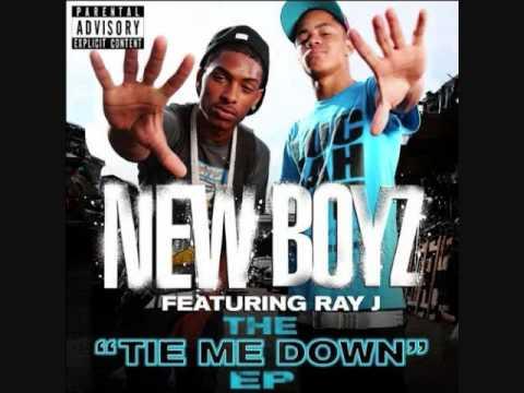 New Boyz ft. Ray J - Tie Me Down ( w/ lyrics )