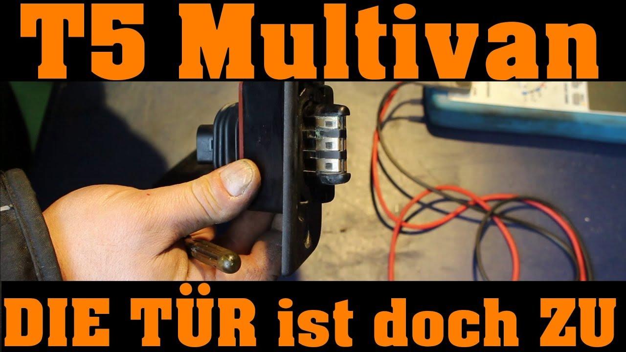 Reparaturrolle elektrisch Schiebetür links Seitentür fürVW T5 Caravelle Multivan