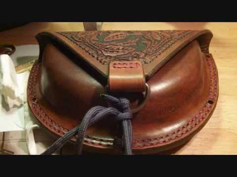Belt pouch leather