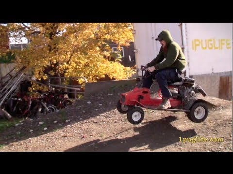 race mower speed run