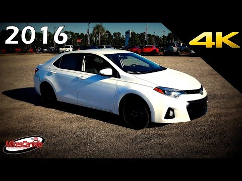 2016 Toyota Corolla S w/Special Edition Pkg - Ultimate In-Depth Look in 4K