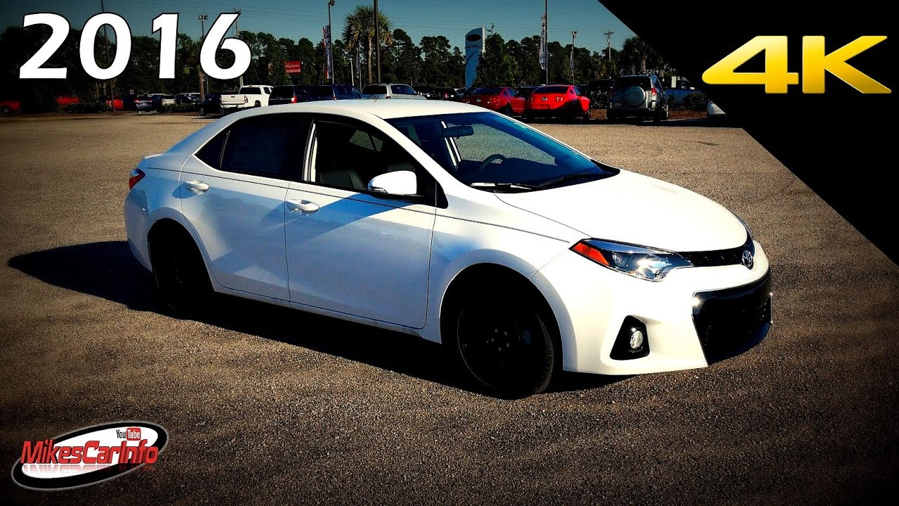 2016 Toyota Corolla S W Special Edition Pkg Ultimate In