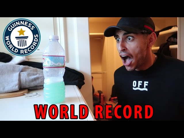 I BEAT JAKE PAUL'S WORLD RECORD