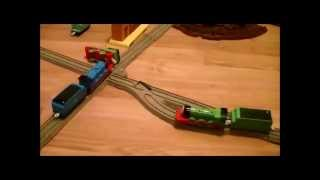 Thomas The Tank Engine - Accidents Happen - Trackmaster Thomas And Friends