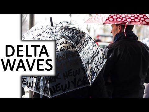 Delta Waves, Rain, Drone Music ● Reflection in Rain ● for Sleep & Deep Meditation & Relaxation, Spa
