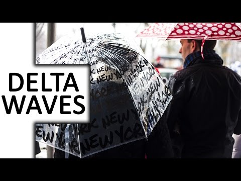 Delta Waves, Rain, Drone Music ● Reflection in Rain ● for Sleep & Deep Meditation & Relaxation, Spa