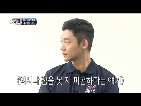 [Real men] 진짜 사나이 - Lee Tae-sung speaking japanese 20160828