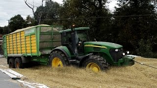 Kukurydza na wielką skalę - WPADKI !!! [DJI PHANTOM 3 ] John Deere Claas Jaguar x2 Joskin Krone