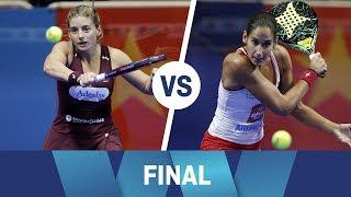 Resumen Final Femenina Lugo Open Marrero/Salazar vs Mapi/Majo | World Padel Tour