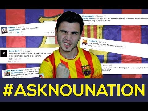 ¿Cambiarías el escudo del FC Barcelona? | Los mejores del Barça de la historia | #ASKNouNation
