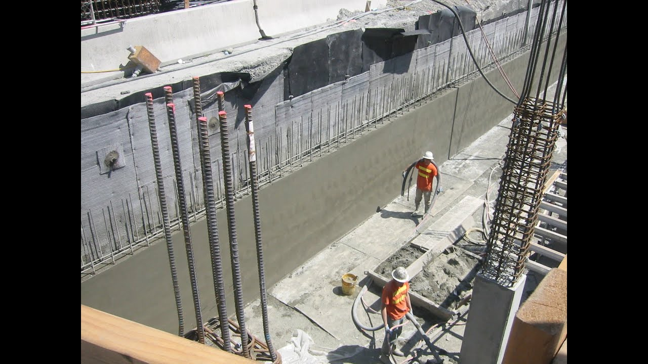 How To Build A Structural Shotcrete Wall Ucla Hospital