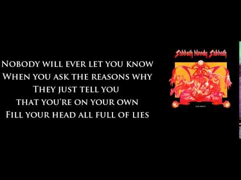 Black Sabbath - Sabbath Bloody Sabbath [Lyrics] HQ