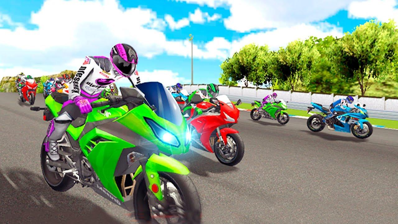 Bike Racing Games Real Motorcycle Racing Heavy Bike