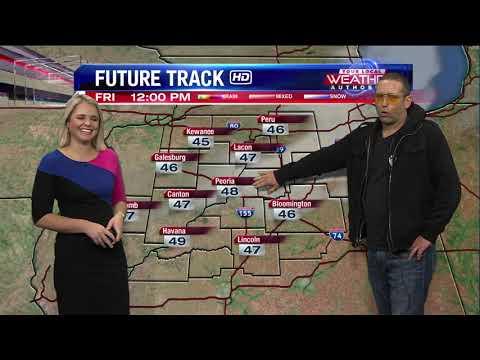 Brett Erickson Gives Forecast With Lauren Rainson
