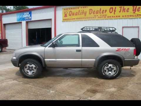 1999 chevy blazer zr2 4x4 with sunroof and in house financing 1999 chevy blazer zr2 4x4 with sunroof and in house financing sciox Images