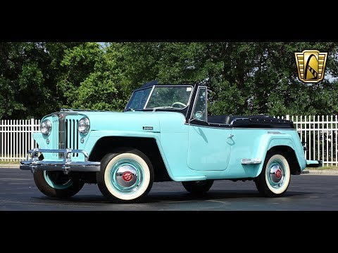 Offer Up Cars For Sale >> 1948 Willys Jeepster Gateway Orlando #832 - YouTube