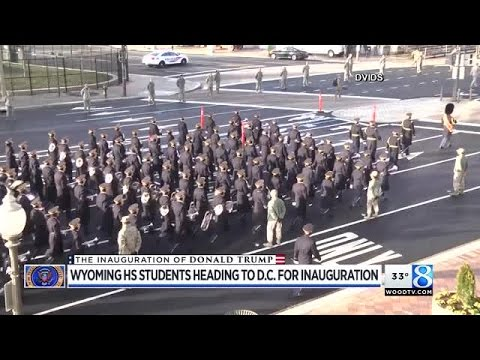 Wyoming HS students heading to Trump's inauguration