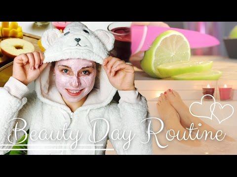 ♡ BEAUTY DAY ROUTINE ♡ | BibisBeautyPalace