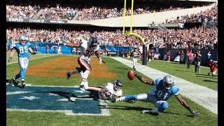 Lions vs Bears 2010 Highlights Calvin Johnson Rule