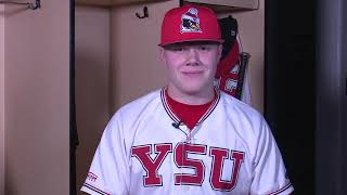 We get to know blaze glenn of the youngstown state baseball team. is a business administration major and native toronto, ohio.