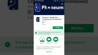 Phoneum Mobile Application Review