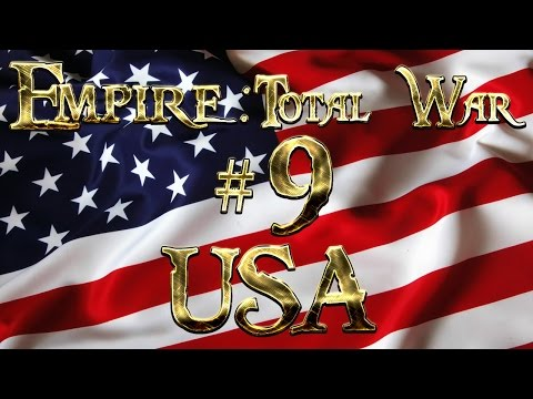 Lets Play - Empire Total War (DM)  - USA  - Backing Down...!! (9)