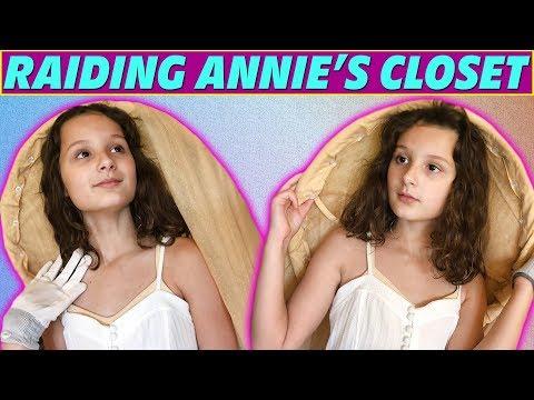 Raiding Annie's Closet! | Hayley LeBlanc