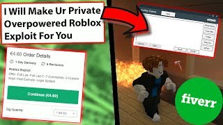 I Paid A Stranger To Make Me Roblox Hacks (Fiverr)