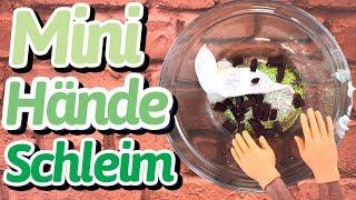 Mini Hände Schleim - Zufalls Slime Edition MIT GLÜCKSRAD